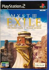 Gioco PS2 Myst III 3 Exile - Ubisoft Sony Playstation 2 Usato