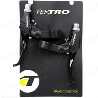 Tektro RS360A Pair / Set of MTB Bike Brake Lever Linear Pull Levers - Black