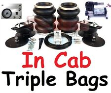 "LA39 Toyota Tundra Triple BOSS Air Bag Suspension & In Cab Kit 3"" to 6"" lift"