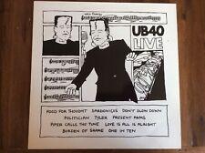 UB40 Live LP DEP 4 UK Album LP Vinyl