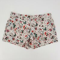 NWT Gap Sunkissed Multi Floral Short Shorts Women's Size 6