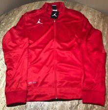 5ddcd446e736 Nike Air Jordan Jumpman Flight Team Jacket Red White 696736-657 - Size L