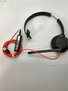 Plantronics C5210 C5200 Blackwire Series USB Wired Headset