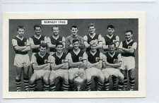 (Gy277-457) Thomson, Football, Famous Teams, Barnsley 1960 VG-EX issued 1962