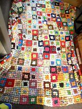 Vintage Yo Yo Quilt 84 x 60 + Pillow