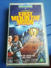 VHS VIDEO H.G.WELLS FIRST MEN IN THE MOON