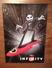 Jack Skellington- Disney Infinity- Glow in the Dark Poster Limited Edition Rare