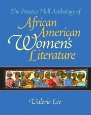 The Prentice Hall Anthology of African American Women's Literature by Valerie...