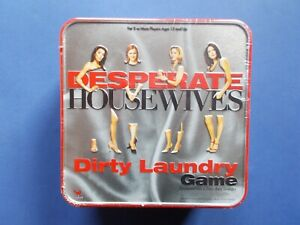 ## BRAND NEW ## DESPERATE HOUSEWIVES - DIRTY LAUNDRY BOARD GAME - SEALED