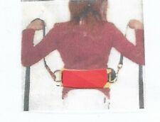 Gymnastic Spotting Belts Med Red 23-27 Inch Waist Training Acrobatics Trampoline