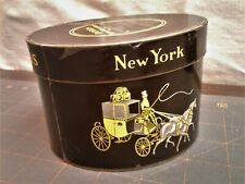 Antique Dobbs Fifth Avenue New York Salesman Sample Miniature Hat Box