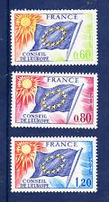 ¤¤ Yvert service  46/48 - Conseil de l'Europe 1975 - Neuf**  ¤¤