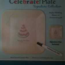 Marianne Richmond's Celebrate Plate Signature Collection 'Happily Ever After'