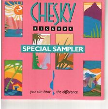 Rare Sealed NEW Audiophile Chesky Records Special Sampler CD Hear the difference