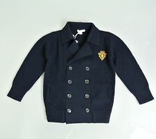 New Authentic Gucci Long Sleeve Wool Sweater Cardigan w/Hysteria, 8, 270697