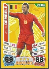 TOPPS MATCH ATTAX  BRAZIL 2014 WORLD CUP- #024-BELGIUM-MOUSA DEMBELE