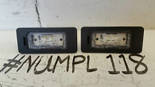BMW 1 2 3 4 5 SERIE X1 X3 X5 X5 X6 NUMBER PLATE LIGHT LAMP 7193293