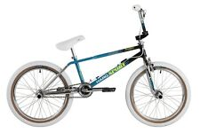Haro 2017 Lineage Team Sport 1987 Old School Retro BMX Bike Teal/Black/Chrome