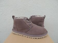 UGG NEUMEL STORMY GREY SUEDE/ SHEEPWOOL ANKLE BOOTS, WOMEN US 11/ EUR 42  ~NIB