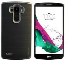Grey Shockproof Dual Layer Tpu+Pc Back Case Cover for Lg G4