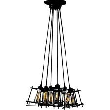 Chandelier Titania 6 Light Shaded INDUSTRIAL Modern Can't Go WRONG w/This Electi