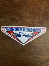 """Vintage NOS NEW Thunder Products Performance racing sticker decal 5"""""""