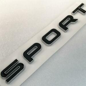 LAND ROVER DISCOVERY SPORT BADGE BLACK CHROME REAR BACK TAILGATE LETTERING BADGE