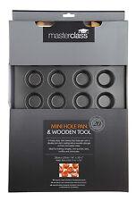 master class non-stick mini 24 hole tart pan 35x27cm (holes 4x2cm)