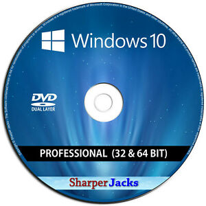 Windows 10 Professional 32/64-Bit Install / Reinstall / Restore Recovery Repair