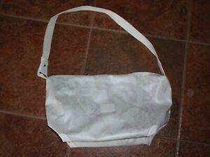 Alviero Martini sommerliche Tasche Geo weiss beige grau