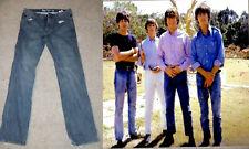 The Beatles vintage édition limitée Jeans 34 Lennon McCartney bleu collection