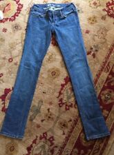 BULLHEAD SZ 1R VENICE Skinny Stretch Medium Wash Blue Jeans EUC