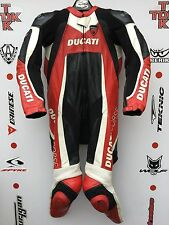 Dainese Ducati 1 piece race suit with hump uk 40 euro 50