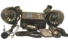 New listing complete Bluetooth 600 watt motorcycle boat snowmobile Stereo system audio