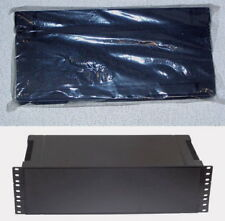 "3U 19 inch plastic rack mount radio stereo amplifier enclosure kit cabinet 19"""