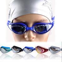 Adult Adjustable Swim Glasses LOT Anti-fog Non-Fogging UV Cut Swimming Goggle