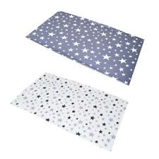 Cotton Baby Bed Cover Crib Fitted Sheet Soft Breathable Infant Bedding Mat CA