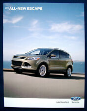 Prospekt brochure neue all-new 2013 Ford Escape * Ford Kuga (USA)
