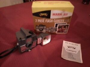 Antique Imperial Mark XII Camera Flash Photography Kodak w/OWNERS MANUAL