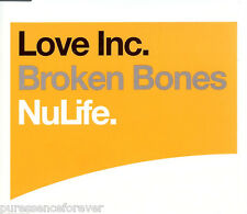 LOVE INC. - Broken Bones (UK 3 Track CD Single)