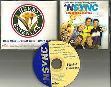NSYNC & CHRISTINA AGUILERA & Before Dark Ultra Rare PROMO CD Justin Timberlake