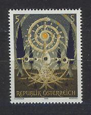 AUSTRIA 1989 MNH SC.1481 Lebensbaum by  Erst Steiner