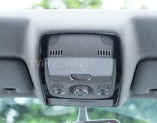 For Audi A4 B8/ Q5 8R 2008-2015 Carbon Fiber Front Reading Light Cover Trim 1pcs