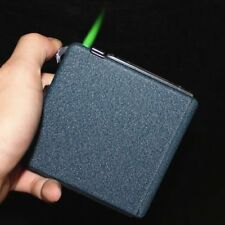 Automatic Cigarette Case Dispenser with Built in Torch Lighter for 20 PACK