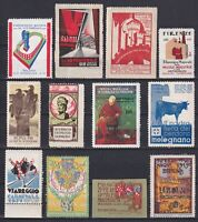 ITALY, CINDERELLA/Poster Stamps, Exhibitions, Festivals, Fairs, MH