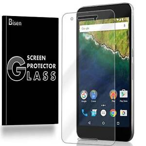 Huawei (Google) Nexus 6P [BISEN] Tempered Glass Screen Protector Guard Shield