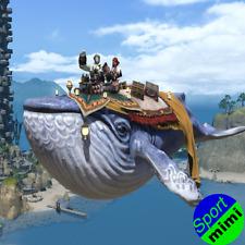 FINAL FANTASY XIV FFXIV FF14 item Mount Indigo Whale (Account-wide) Code not GIL