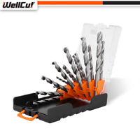 WellCut WC-HSS19PU 1-10mm Ultra High Quality HSS Twist Drill Bit Set with 19 Pcs