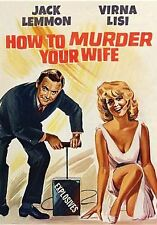 HOW TO MURDER YOUR WIFE (Jack Lemmon) - DVD - Region 1