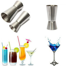 Stainless Steel Jigger Drink Spirit Shot Measure Cup Cocktail Bar Accessory Hot